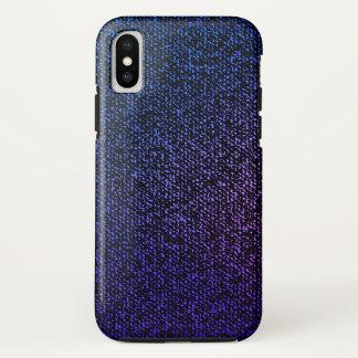 Blue Jeans Texture (purple) Case-Mate iPhone Case