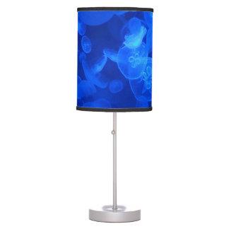 Blue Jellyfish Desk Lamps