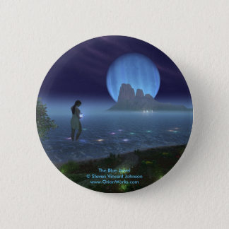 Blue Jewel, The Blue Jewel Steven Vincent John... 2 Inch Round Button
