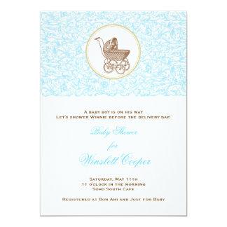 Blue Julep Scroll Card