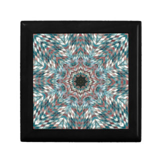 Blue kaleidoscope gift boxes