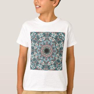 Blue kaleidoscope T-Shirt