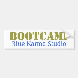 Blue Karma Bootcamp Bumper Sticker