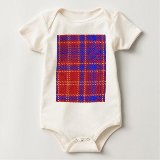 Blue Kilt Tartan Baby Bodysuit