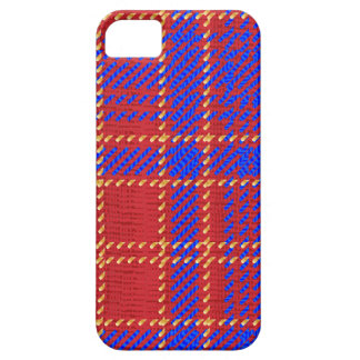 Blue Kilt Tartan iPhone 5 Cover