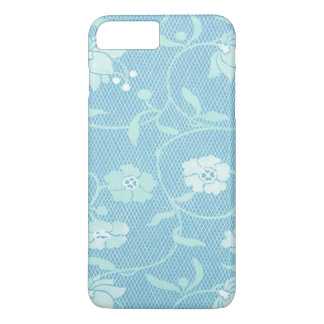 Blue Kimono Pattern iPhone 7 Plus Case