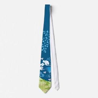 Blue Kimono Tie