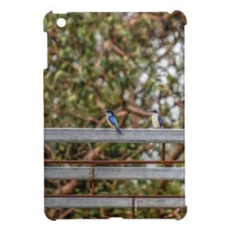 BLUE KINGFISHER QUEENSLAND AUSTRALIA ART EFFECTS iPad MINI CASES