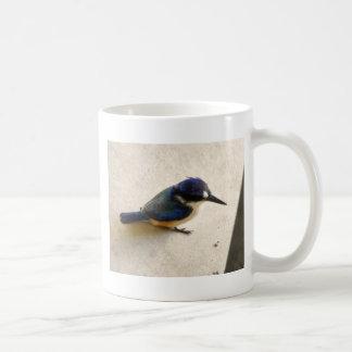BLUE KINGFISHER QUEENSLAND AUSTRALIA COFFEE MUG