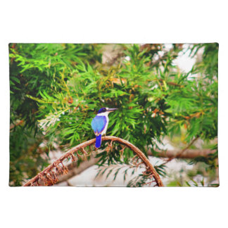 BLUE KINGFISHER QUEENSLAND AUSTRALIA PLACEMAT