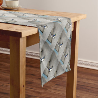 BLUE KINGFISHER QUEENSLAND AUSTRALIA SHORT TABLE RUNNER