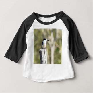 BLUE KINGFISHER RURAL QUEENSLAND AUSTRALIA BABY T-Shirt
