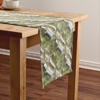 BLUE KINGFISHER RURAL QUEENSLAND AUSTRALIA SHORT TABLE RUNNER