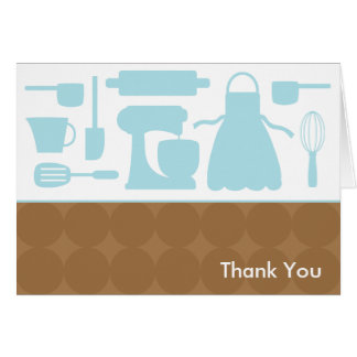 Blue Kitchen Note Cards