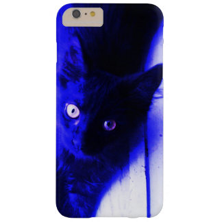 Blue Kitten Barely There iPhone 6 Plus Case