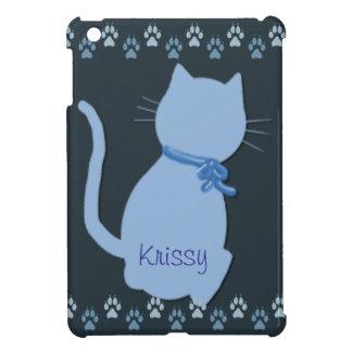 Blue Kitty iPad Mini Case