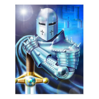Blue Knight Postcard