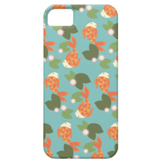 Blue Koi Pond Case For The iPhone 5