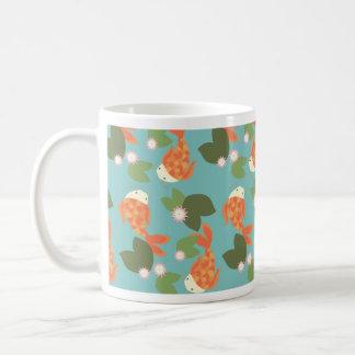Blue Koi Pond Coffee Mug