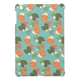 Blue Koi Pond Cover For The iPad Mini