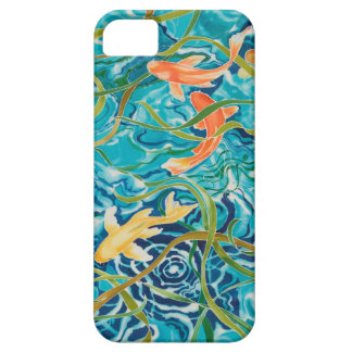 Blue Koi Pond iPhone 5 Case