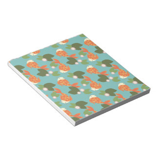Blue Koi Pond Notepad