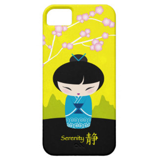 Blue kokeshi - Serenity iPhone 5 Covers