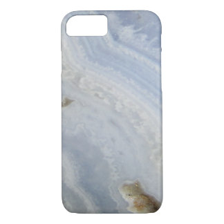 Blue Lace Agate Swirl cool nature stone iPhone 8/7 Case