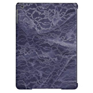 Blue Lace Case For iPad Air