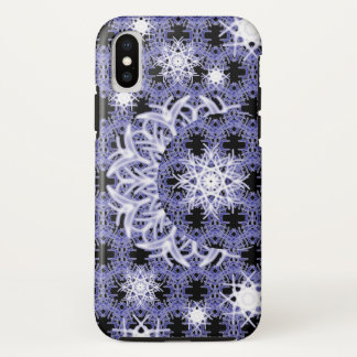 Blue Lace Moon ~ iPhone X Case