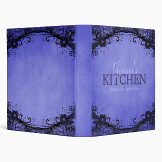 Blue Lace Recipe Binder