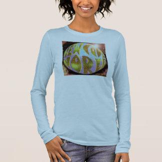 "Blue Ladies ""NCW"" CD Planet Long Sleeve Long Sleeve T-Shirt"