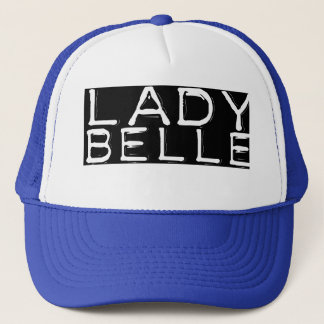 "Blue ""Lady Belle"" Trucker Hat"