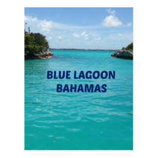 Blue Lagoon Bahamas Postcard