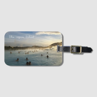 Blue Lagoon Iceland Luggage Tag