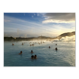 Blue Lagoon Iceland Photoprint Photo Print