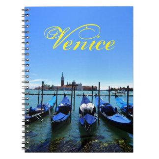 Blue lagoon in Venice, Italy Notebook