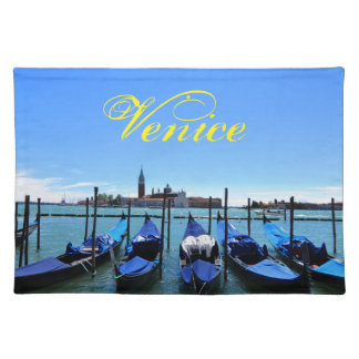 Blue lagoon in Venice, Italy Placemat