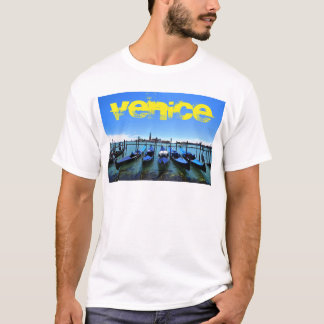 Blue lagoon in Venice, Italy T-Shirt