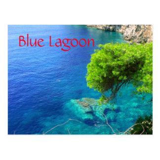 Blue Lagoon Postcard