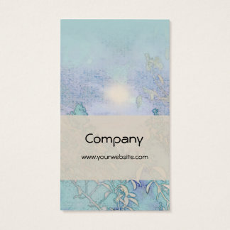 Blue Landscape Harmony Business Card