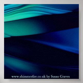 Blue Langrine Poster