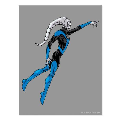 Blue Lantern 10 Postcard