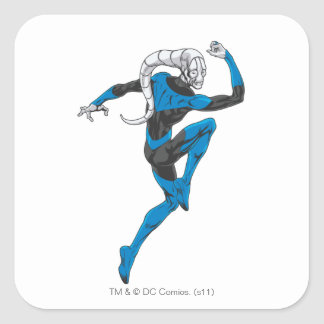 Blue Lantern 1 Square Sticker