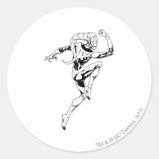Blue Lantern 3 Round Sticker