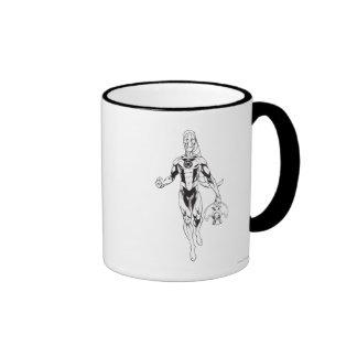 Blue Lantern 6 Ringer Mug