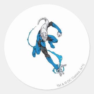 Blue Lantern 7 Classic Round Sticker
