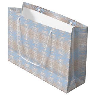 blue large gift bag