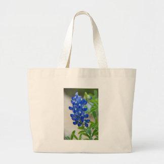 Blue Large Tote Bag