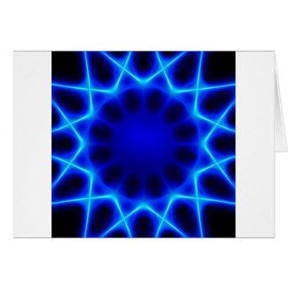 Blue laser #2 card
